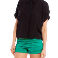 Almost Conservatee Blouse in Black