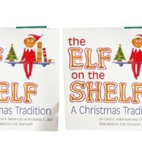The Elf on the Shelf: A Christmas Tradition with Blue Eyed North Pole -Two Pack