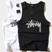 cc hcxx Stussy Sleeveless Tees