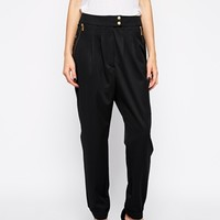 Y.A.S Gwen Pants with Drop Crotch