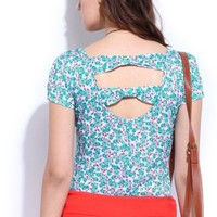 DressBerry Casual Short Sleeve Floral Print Women's Top - Buy printed DressBerry Casual Short Sleeve Floral Print Women's Top Online at Best Prices in India | Flipkart.com