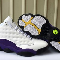 Jordan 13 Retro Lakers - Best Deal Online