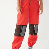 I.AM.GIA Gwen Sheer Zipper Pant | Urban Outfitters