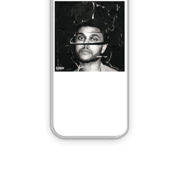 beauty behind the madness the weeknd tshirt - iPhone 5&5s Case