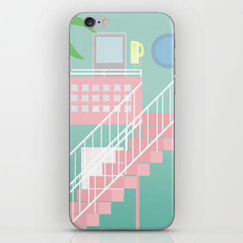 Motel Paradise iPhone & iPod Skin by Claudia Duarte