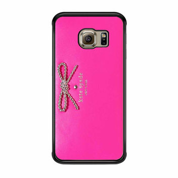 Kate Spade Pink Wallet Samsung Galaxy S6 Edge Case