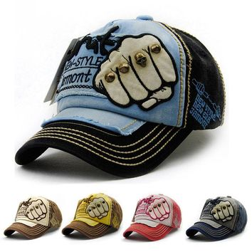 Baseball Cap Adjustable Character Letter Casual Hat