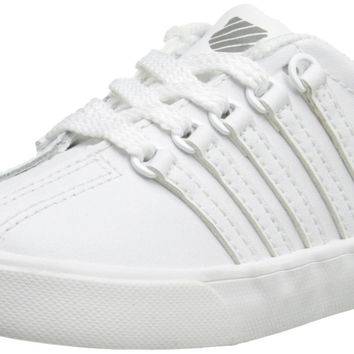 K-Swiss Classic Vintage TDL Tennis Shoe White/white Toddler (1-4 Years)