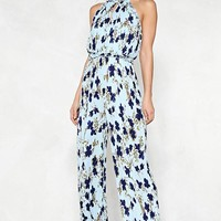 Field of Flowers Halter Jumpsuit