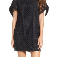 Vince Camuto Eyelet Shift Dress | Nordstrom
