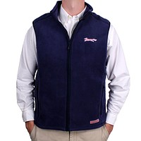 Limited Edition Harbor Vest in Vineyard Navy by Vineyard Vines