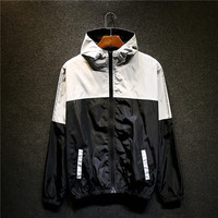 Zippers Jacket Winter Double-layered Windbreaker [9398110791]