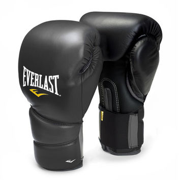 Everlast Muay Thai ProTex2 Gloves 12 oz Black