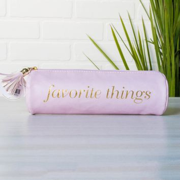 Tassel Pouch | Favorite Things