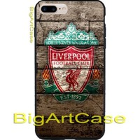 New Liverpool Fc Logo Vintage Soccer Foodball CASE Cover iPhone 6s/6s+/7/7+/8/8+