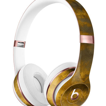 Golden Avalanche over Cliff Full-Body Skin Kit for the Beats by Dre Solo 3 Wireless Headphones