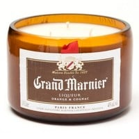 (1) Grand Marnier® 16 oz Candle With Wick - Bottle Heaven