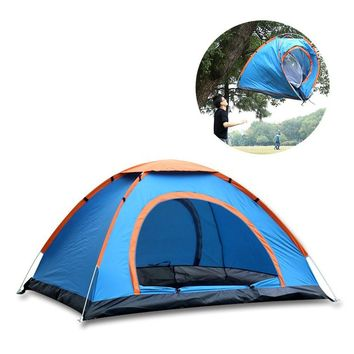 2 Person Quick Open Waterproof Dome Tent