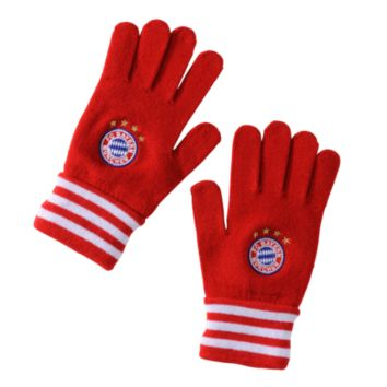 FC Bayern adidas Knitted Gloves - Official FC Bayern Online Store