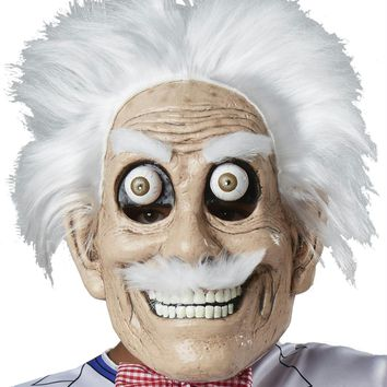 Mad Scientist Mask Googly Eyes Halloween Accessories