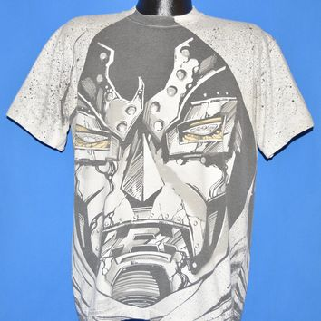 90s Doctor Doom Marvel Comics All Over Print t-shirt Large