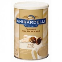 Ghirardelli Chocolate White Mocha Hot Chocolate, 19 oz.