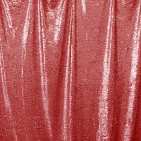 Red Sequin Printed Photography Backdrop / 4611