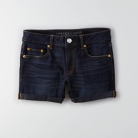 AEO Denim Rolled Boy Midi Short