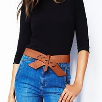 Free People Womens Ready Set Go Belt