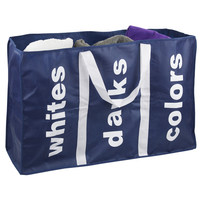 Sunbeam Laundry Three-Compartment Tote Bag | Overstock.com Shopping - The Best Deals on Hampers