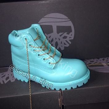 tiffany blue timberlands