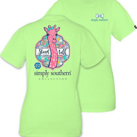 Simply Southern YOUTH Stand Tall Tee - Limeaide