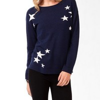 Relaxed Ditsy Stars Sweater | FOREVER 21 - 2045366413