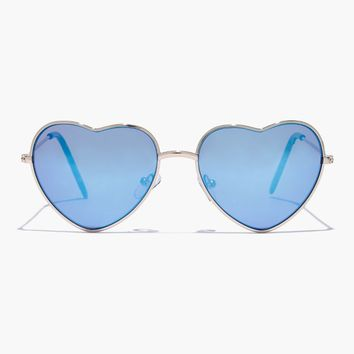 Girls' Heart-Shaped Sunnies : Girls' Sunglasses | J.Crew
