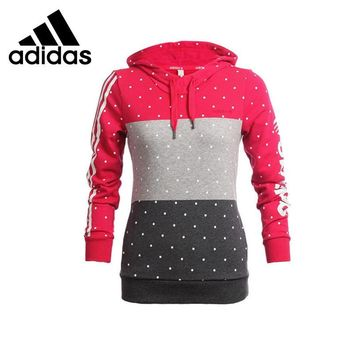 Adidas Womens Patchwork Pullover Hoodie