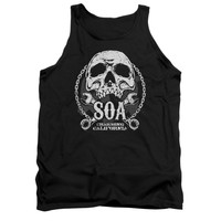 SONS OF ANARCHY SOA CLUB Tank Top T-Shirt