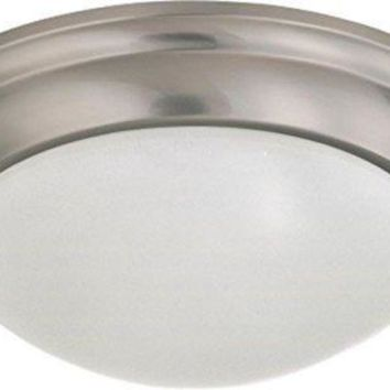 Nuvo 60-3315 - Twist & Lock Dome Medium Flush Mount Ceiling Light
