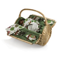SheilaShrubs.com: Barrel Picnic Basket 223-25-515-000-0 by Picnic Time : Picnic Baskets & Totes
