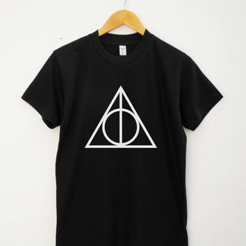 Deathly Hallows Shirt Tumblr Quote Tshirt Funny Graphic Tshirt Teen Tshirt Unisex Tee Shirt Women Tee Shirt Men Tee Shirt Short Sleeve Shirt