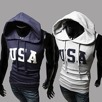 Team USA Sleeveless Hoodie