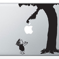 The Giving Tree Laptop Notebook Decal 13 15 17 DM0021 by dinaamon