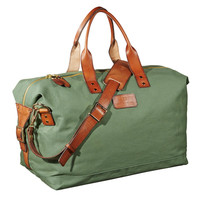 Army Green Weekender Bag by Scotch & Soda
