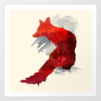 Bad Memories Art Print by Robert Farkas