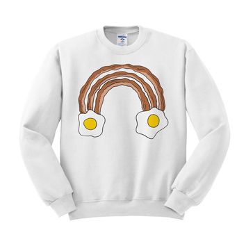 Breakfast Rainbow Sweatshirt