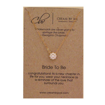 Bride To Be Necklace
