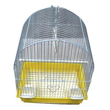 Iconic Pet Dome Top Bird Cage - Small - Yellow