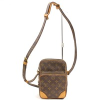 Authentic Louis Vuitton Shoulder Bag Amazon M45236 Browns Monogram 16822