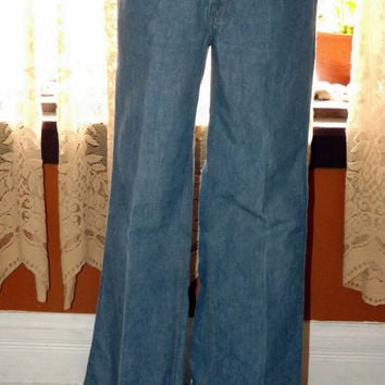 VinTage Authentic 60s 70s Levis Bell Bottoms by SapphireReborn