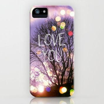 Love You iPhone Case by Erin Jordan | Society6