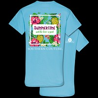 Southern Couture Classic Summertime Livin T-Shirt
